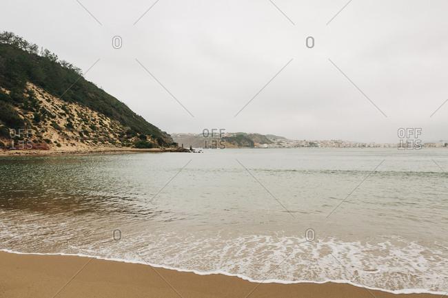 Beach in Salir do Porto, Leiria, Portugal