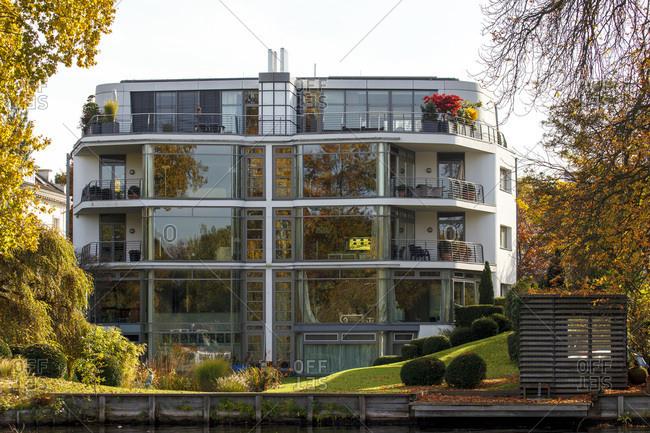 Villa in the langenzug in hamburg-uhlenhorst.