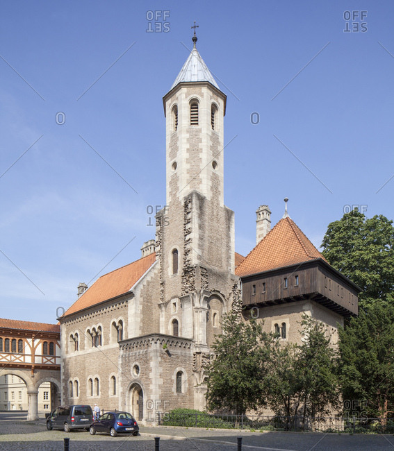 August 10, 2015: germany, lower saxony, brunswick, dankwarderode castle on the burgplatz