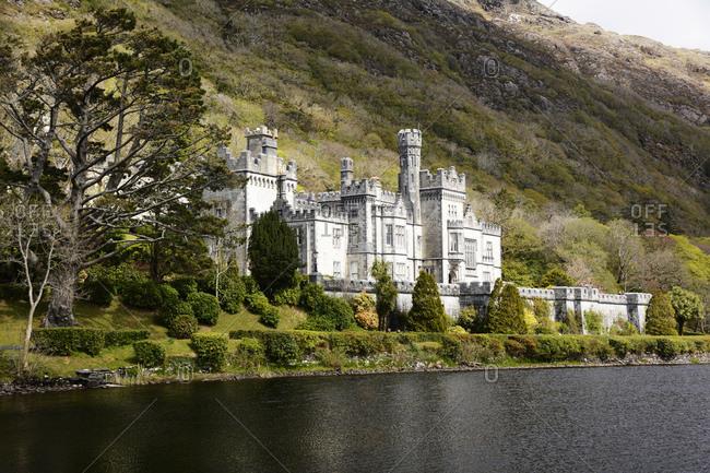 Ireland, castle kylemore abbey