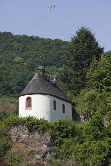 Peterskapelle (chapel), cochem on the moselle, the moselle, rhineland-palatinate, germany