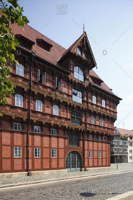 Germany, lower saxony, brunswick, alte waage (house)