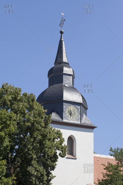 Arheilgen kirche, darmstadt-arheilgen, darmstadt, hessia, germany, europe