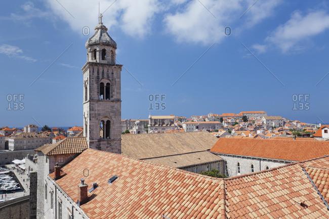 Dominican monastery and church, dubrovnik, dalmatia, croatia