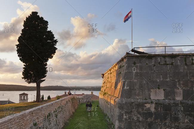 Fort, pula, istria, croatia