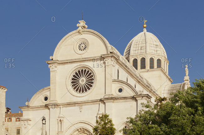 Cathedral of holy jakob, unesco world cultural heritage, sibenik, dalmatia, croatia