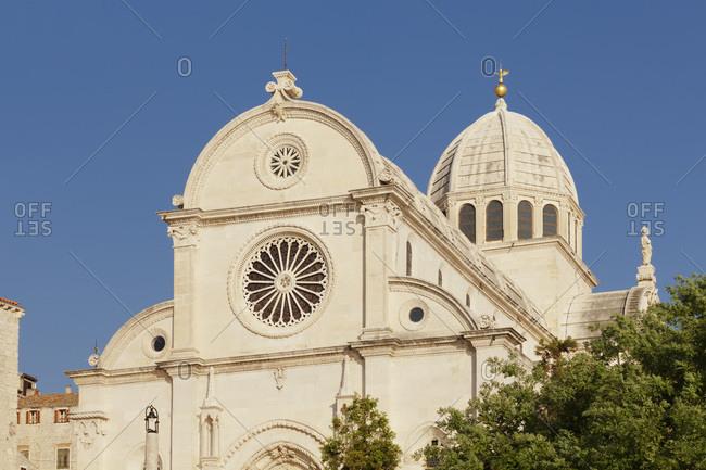 Cathedral of holy jakob, unesco world cultural heritage, sibenik, dalmatia, croatia