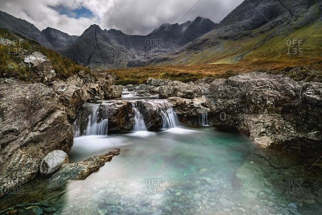 Fairy Pools, Isle of Skye, Highlands region, Scotland, UK