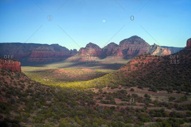 Dramatic landscape at sunset, Sedona, Arizona, USA