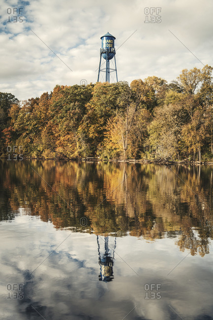 Grand Ledge Water tower - Offset
