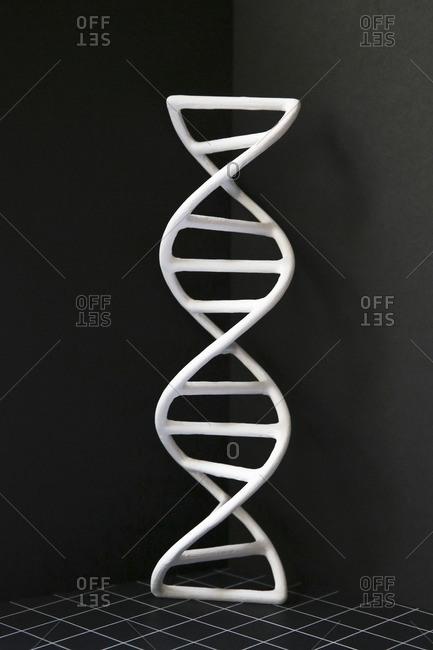 3D printed DNA molecule