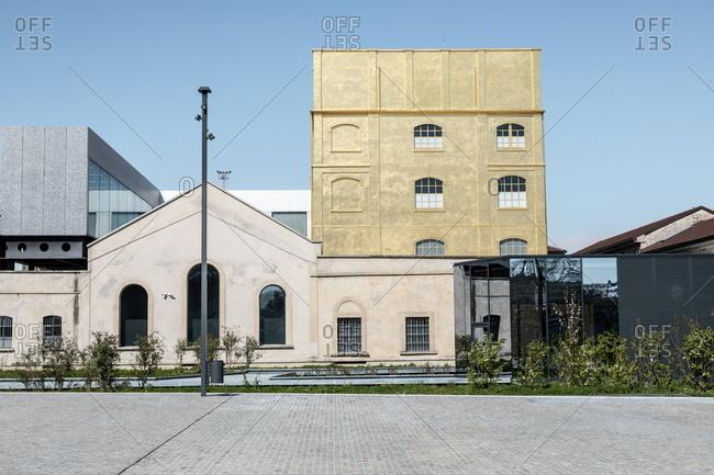 March 25, 2019: Fondazione Prada institution in Milan, Italy