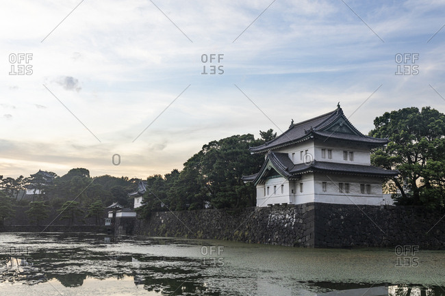 Imperial palace- Tokyo- Japan