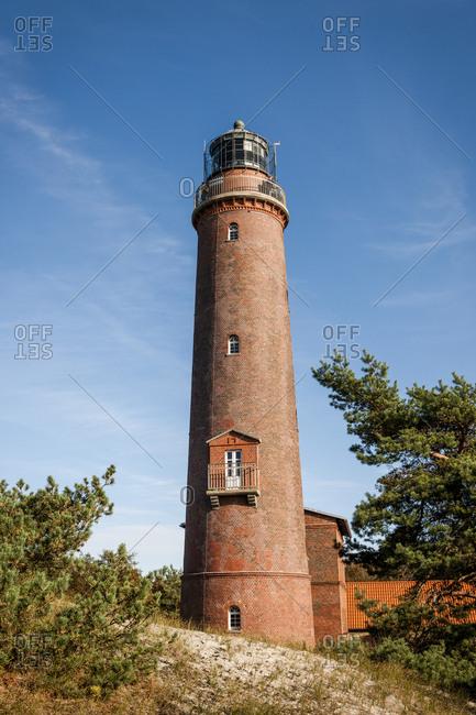 Lighthouse at Darsser Ort- Mecklenburg-Western Pomerania- Germany