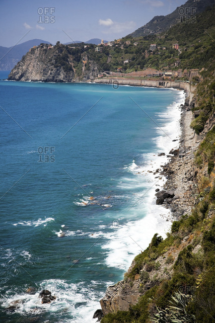 Mediterranean Sea- Liguria- Cinque Terre- Italy
