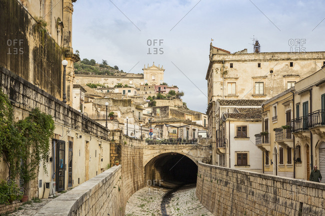 October 4, 2017: Scicli- Province of Ragusa- Sicily