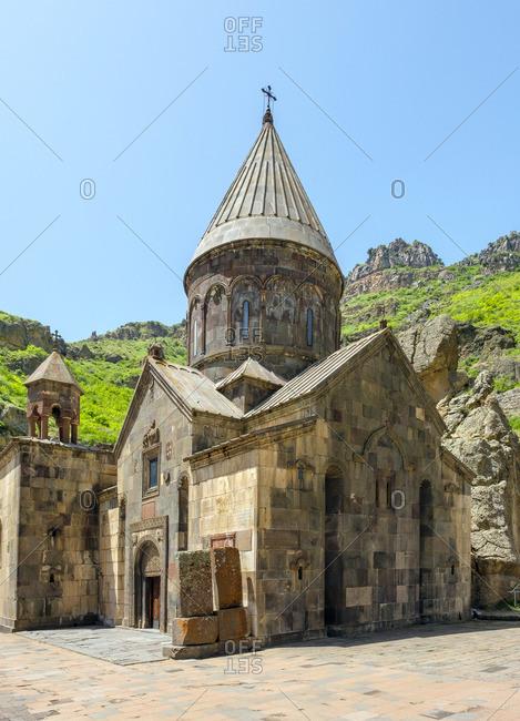 Geghard Monastery (Geghardavank), UNESCO World Heritage Site, Kotayk Province, Armenia.