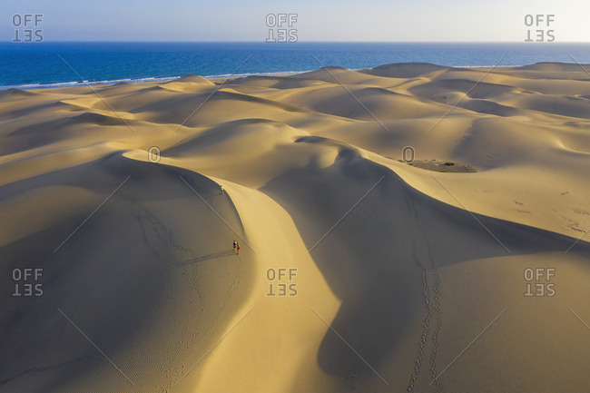 Spain, Canary Islands, Gran Canaria, Maspalomas Sand Dunes