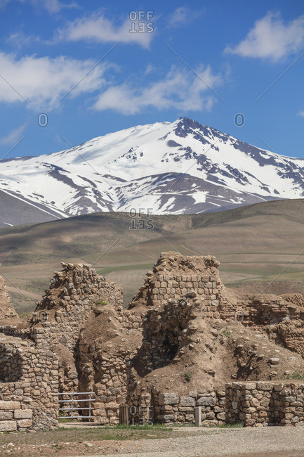 Takht-e Soleyman, archaeological site, West Azerbaijan, Iran
