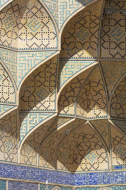 Jameh Mosque, Isfahan, Isfahan Province, Iran