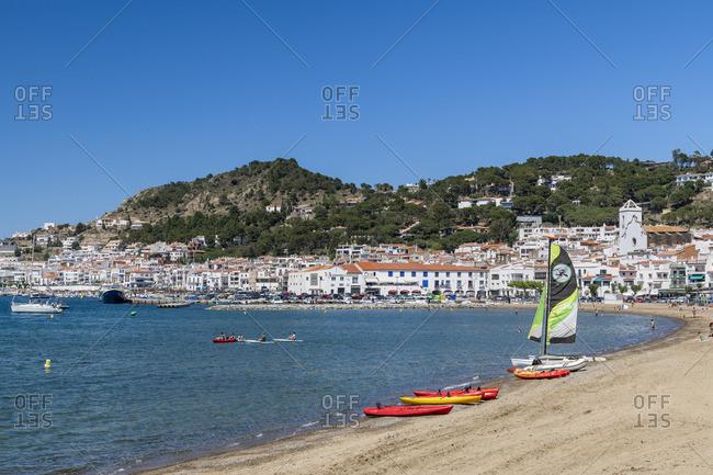 Spain - June 1, 2019: El Port de la Selva, Costa Brava, Catalonia, Spain