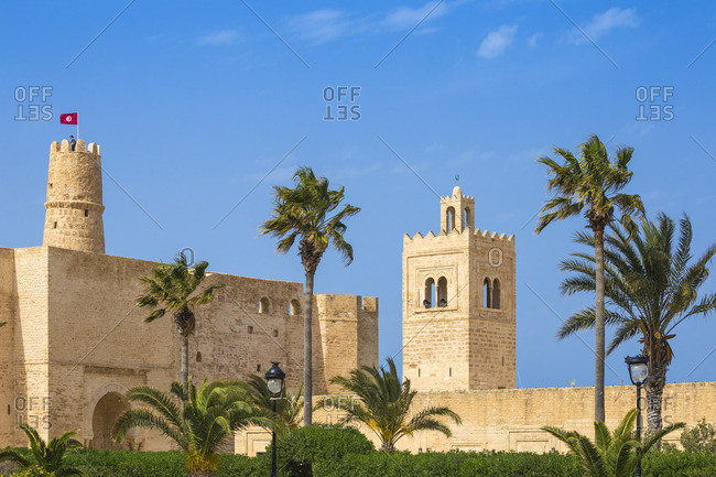 Tunisia, Monastir, Fort and The Great Mosque