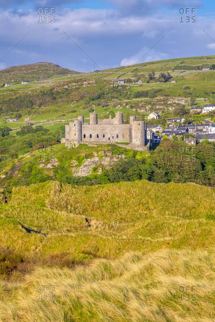 UK, Wales, Gwynedd, Harlech, Harlech Castle