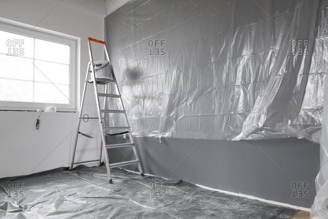 Renovation of a room