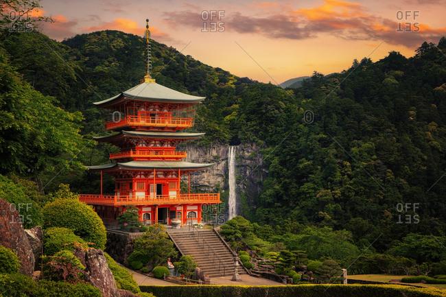 The Seiganto-ji Temple in Wakayama Prefecture, Japan