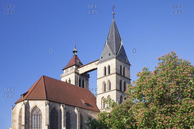 Stadtkirche st. dionys (church), esslingen am neckar, baden-wurttemberg, Germany