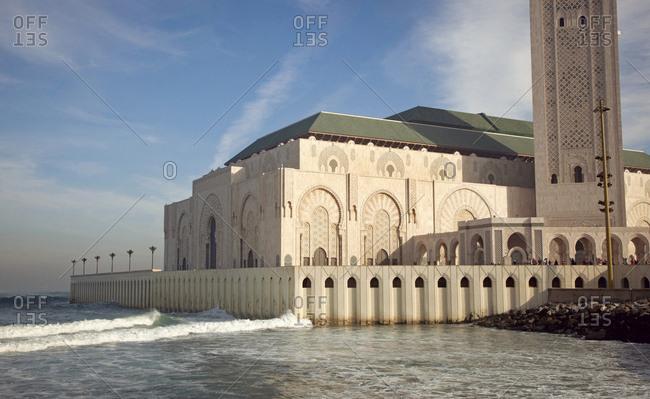 Casablanca, hassan ii. mosque, architecture, morocco