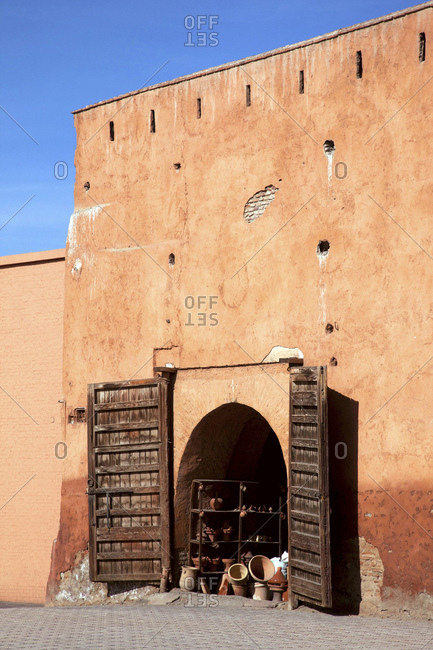 Marrakech, old town, shop, morocco