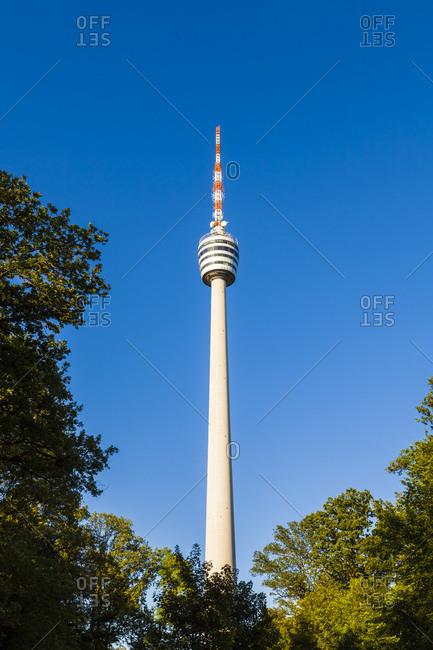 Germany, baden-wuerttemberg, stuttgart, television tower