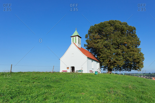 Holy cross chapel, amtszell, allgau, swabia, baden-wuerttemberg, Germany