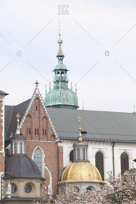 Wawel cathedral, cracow, lesser poland, poland, europe