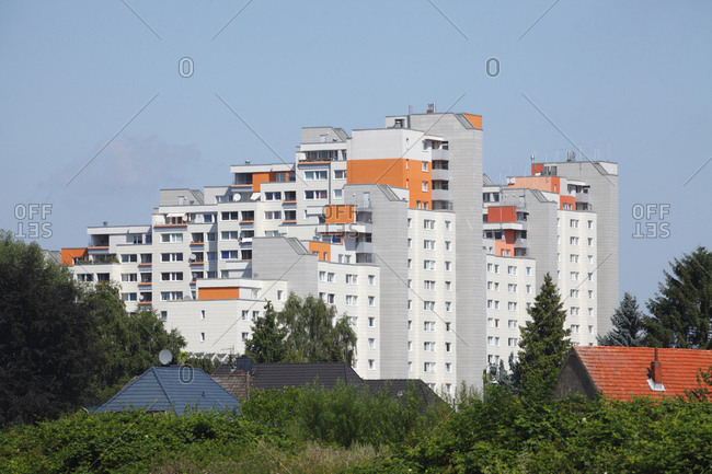 High rises, osterholz-tenever, bremen, Germany, europe