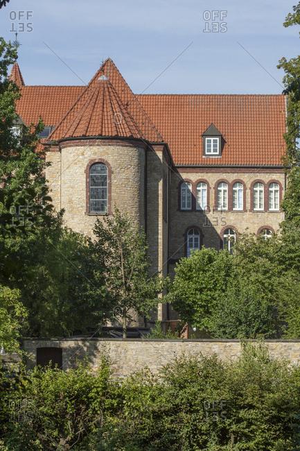 Gymnasium carbolineum, Osnabruck, lower saxony, Germany, europe