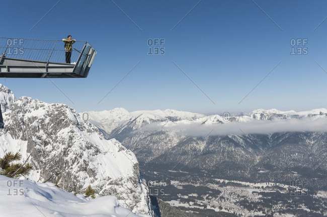 February 27, 2013: Observation platform alpspixx near Garmisch-Partenkirchen