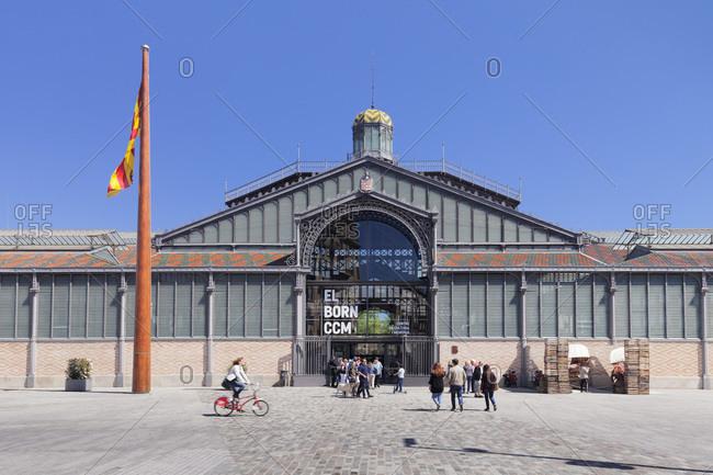 April 8, 2017: El born center cultural, ccm, el born, la ribera, barcelona, catalonia, spain