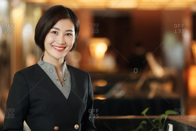The hotel manager portrait