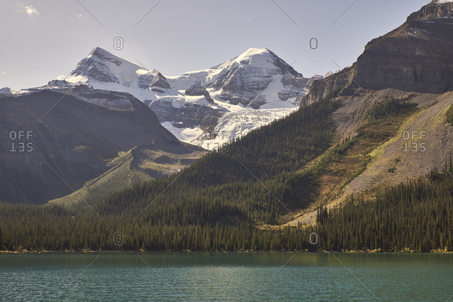Canada, Alberta, Jasper National Park, Maligne Mountain
