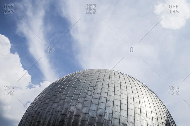 Detail shot of the Planetarium in Berlin, Germany