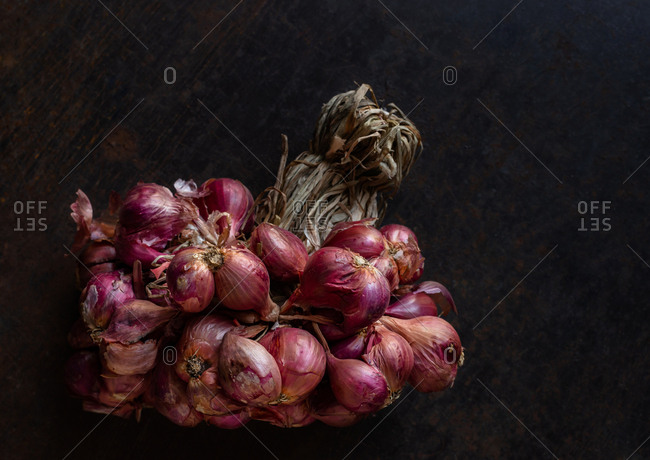 Bunch of shallot