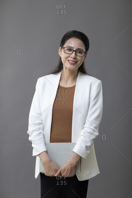 Elegant Chinese teacher