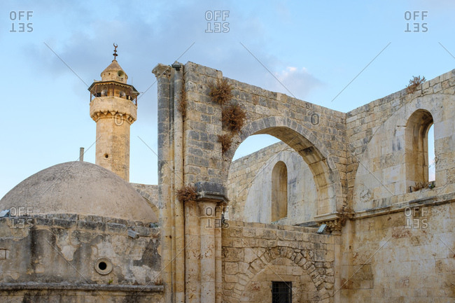 Nabi yahya mosque, burial place of john the baptist sebastia palestine