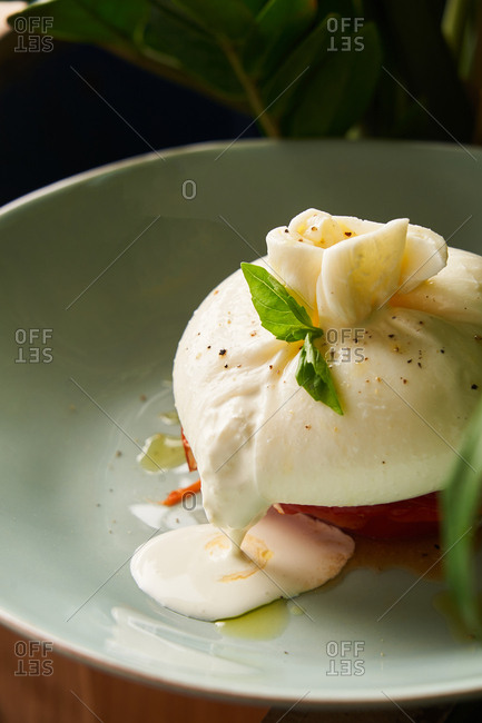 Gourmet poached egg dish