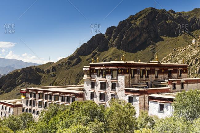 The Drepung Monastery in Tibet