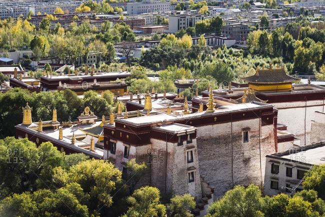 Tibet, Kora around Sera monastery