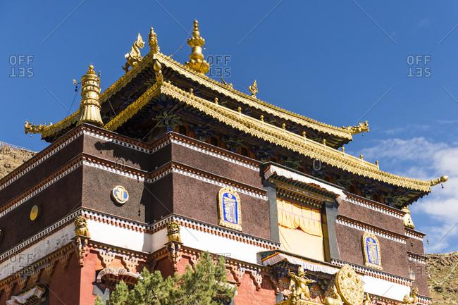 Tibet, Shigatse, the Tashi Lhunpo Monastery