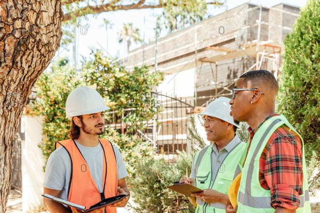 Working Men Listen to Foreman